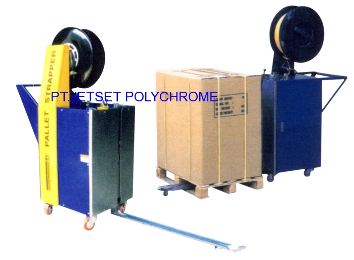 PALLET STRPPING MACHINE