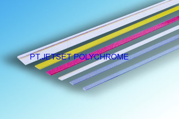 STOPPER / FIX BAR / PVC STRIPER (FLEXOGRAPHIC MOUNTING FRAME)